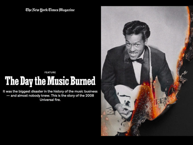 The New York Times: The Day the Music Burned – Twittering Machines
